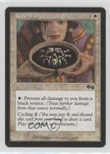 1998 Magic: The Gathering - Urza's Saga #36 Rune of Protection: Black Card 0d8
