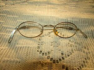 Vintage Eye Glasses 1980's Sun Glasses metal #03