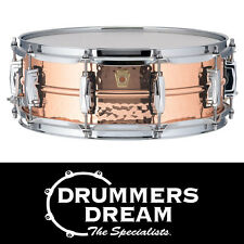 "Ludwig Copperphonic 14x5"" Hammered Snare Drum RRP $1599 Seamless Copper Shell"