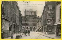 cpa 45 - ORLEANS (Loiret) La Rue de la HALLEBARDE et l'HÔTEL des POSTES Animée