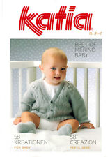 Katia Heft Nr. R-7 Best Of Merino Baby Anleitungen Stricken Häkeln
