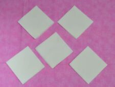 SOLID WHITE 3.5 INCH KIT  Quilt Squares (50)