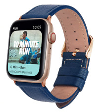 Correa Pulsera de cuero para Apple Watch series 1 2 3 4 5 6