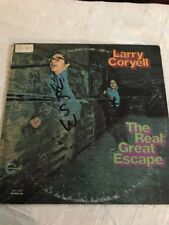 Larry Coryell LP The Real Great Escape Vanguard 79329 Psych Fusion NM-