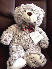 Teddy Bear  F.A.O. Schwarz Plush Plaid Bow Stuffed Animal Christmas Bears 2017
