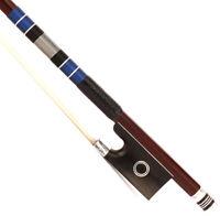 D.PECCATTE Copy 4/4 Violin Bow Advanced Antique Pernambuco Ebony Silver parts