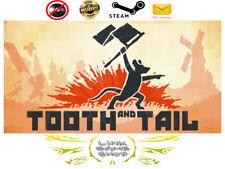 Tooth and Tail PC & Mac Digital STEAM KEY - Region Free