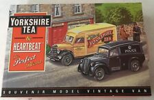 "1950 BEDFORD 30 cwt  VAN - ""YORKSHIRE TEA "" HEARTBEAT EDITION . MINT IN MINT BOX"