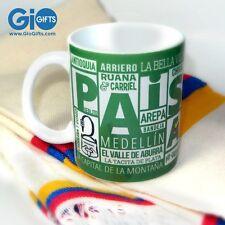 Medellin PAISA Coffee Mug - Pocillo Medellin PAISA, Ceramica