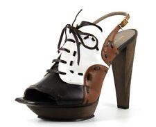 Rapheal Young Paris Tsuka Womens UK 7 EU 40 High Heel Leather Platform Heels