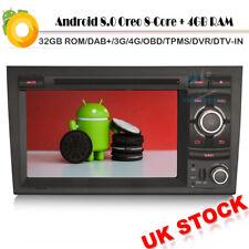 4gb RAM Android 8.0 car DVD GPS autoradio DAB 4g BT Dvb-t Audi A4 S4 Rs4 B7 B9