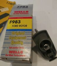 Wells Automotive Parts F983 Distributor Rotor Made in the USA NOS