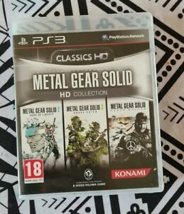 Metal Gear Solid Hd Collection PS3 (PAL)