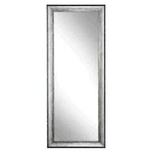 BrandtWorks Mid Silver Framed Floor Leaning Tall Mirror, 33''x 72'' - BM039T