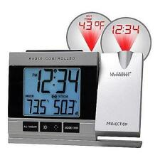 La Crosse WT-5220U-IT-CBP Atomic Projection Alarm Clock with Temperature