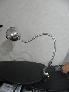 lamp light office retro desk articulating Machine age Industrial vintage bauhaus