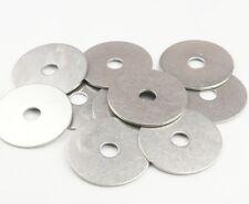10x rondelles, 6,4 x 30mm, acier inox Rondelles Plates/fixations