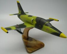 L-39-C Albatros Soviet AF Aero L39 Airplane Kiln Wood Model Replica Small New