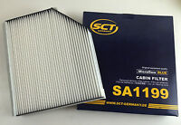 INNENRAUMFILTER / POLLENFILTER SCT GERMANY AUDI A4 8K B8 A5 8T 8F Q5 8R