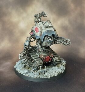 Painted Adeptus Mechanicus Kataphron Robot /Character Conversion