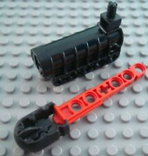 LEGO Black Technic Competition Cannon Red Arrow Part