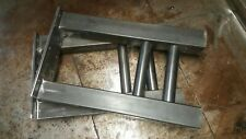"""Industrial table or bench legs.            20"""" tall x 11"""" wide.  set of 2."""