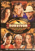 Survivor : Season 2 The Australian Outback (DVD, 2005, 6-Disc Set Box Set, R1)