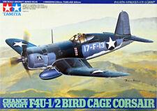 Tamiya 61046 WWII U.S. Vought F4U-1/2 Bird Cage Corsair Kit - 1:48 (US shipped)