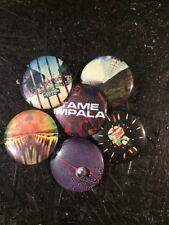 "1.25"" Tame Impala pin back button set of 6"