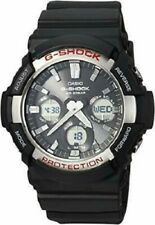 Casio G-Shock Mens Solar World Time Analog Digital Watch GAS100-1A
