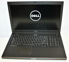 "17.3"" FHD Dell Precision M6800 Core i7 4800MQ 12GB 256GB WiFi BT Intel QUADRO DG"