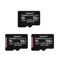 Kingston Micro SD Card 32GB 64GB 128GB Class 10 SDHC SDXC Phone Memory + Adapter