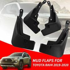 4PCS Mud Flaps Splash Guards Fender Durable Mudguards For Toyota RAV4 2019 2020