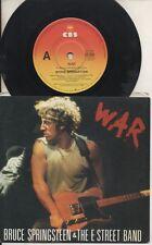 "BRUCE SPRINGSTEEN   Rare 1986 Australian Only 7"" OOP CBS Rock P/C Single ""War"""