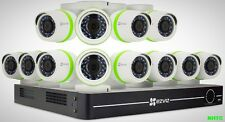 EZVIZ 16-Channel 1080p HD 2TB Security System with 12 Cameras Night Vision New