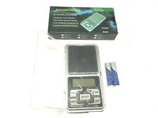 New 200g 0.001 DIGITAL POCKET SCALES JEWELLERY ELECTRONIC-Brand New