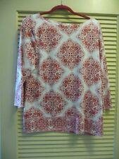 Charter Club Pink Tunic Size XL NWT