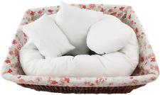 4 PC Newborn Photography , Basket Filler Wheat Donut Posing Props Baby Pillow