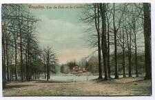 CPA - Carte Postale - Belgique - Bruxelles - Lac du Bois de la Cambre - 1907