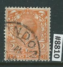 #8810 GREAT BRITAIN Sc#162 Used King George V 1912-13