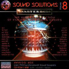 MasterBits / Sound Solutions 8 / ANALOGUE / Sampling-CD / WAV