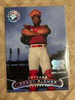1996 Stadium Club Extreme Players Silver Insert Sandy Alomar Cleveland Indians