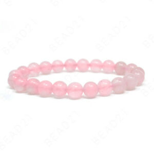 Bracelet Handmade Natural Gemstone Beads Round Stretch Healing Reiki 8mm