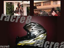 Burn Notice Michael Westen's Motorcycle Helmet, Pilot. Jeffrey Donovan. Shut Eye