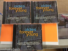 Oldies Forever Young 1 2 3 Lot by Va Import (CD, 2001, Sony) Tested! Works!