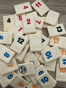 RUMMIKUB by Goliath Replacement Spare Tiles Instructions Racks Legs