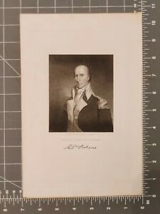 ANTIQUE ENGRAVING GENERAL ANDREW PICKENS