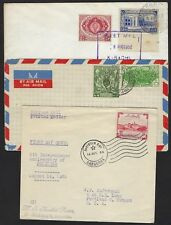 PAKISTAN 1950s SIX COVERS INCLUDING FLEET MAIL MAIL CAMP PO UN FORCE WEST IRIAN