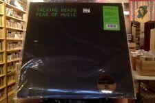 Talking Heads Fear of Music LP sealed 180 gm vinyl RE reissue