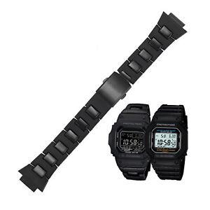 Mode Schwarz Armband Uhrenarmbänder Für G-ock DW-6900/9600/DW5600/GW-M5610 Uhr